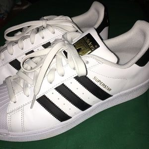 Men's Adidas Superstar Sneakers Shoes- Size 8-1/2